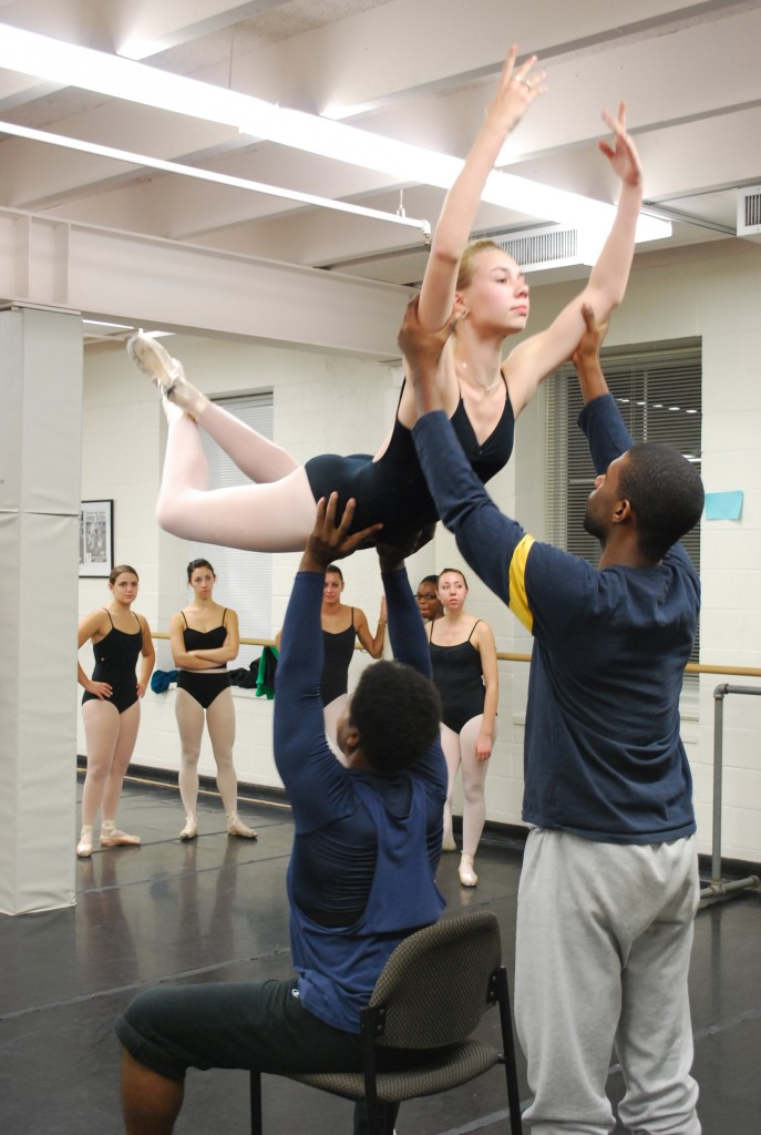 Partnering class with Waverly Lucas