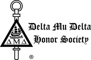 Delta Mu Delta Honor Society.