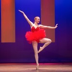 Melinda Cassiday performs self choreographed ballet during the Brenau Ideal Scholarship Competition.